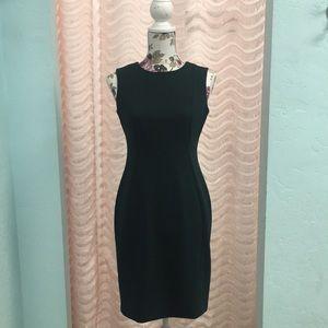 NWT Calvin Klein Forest Green Dress